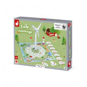 Cooperative game - Wind Turbine challenge - In partnership with WWF