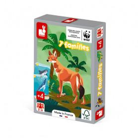 Animal Kingdom - Happy Families Set - In partnership with WWF