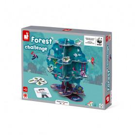 Forest Challenge - Jeu de parcours - Partenariat WWF