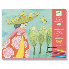 Crayons aquarellables - Echappées belles 8-14ans