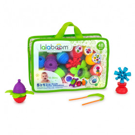Educational beads and accessories - 48 pieces
