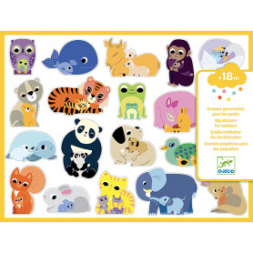 Stickers Moms Baby animals - Small gifts