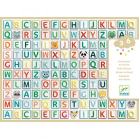 Alphabet volume stickers - Small gifts