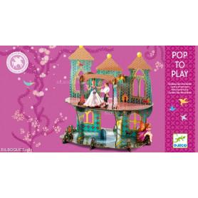 Château des merveilles en carton POP'N PLAY