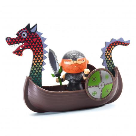 Drak & Ze drakkar - Arty Toys pirates
