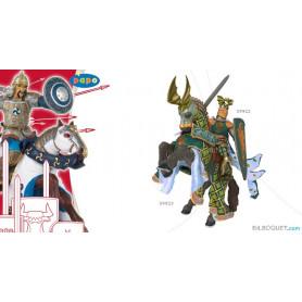 Cheval du maître des armes cimier dragon Figurine Papo