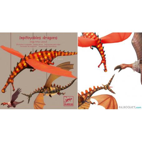 Décorations à suspendre Impitoyables Dragons