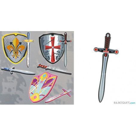 Epée de Croisé - Déguisements et accessoires en mousse