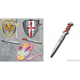 Dague médiévale Roi - Armes et accessoires en mousse
