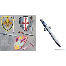 Dague médiévale Prince - Arme en mousse
