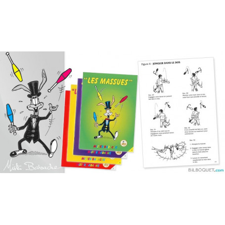 LES MASSUES - Livret d'apprentissage jonglerie Mister Babache