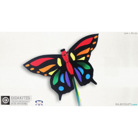 Papillon tropical Cerf-volant