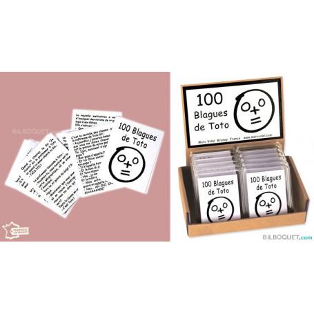 100 blagues de Toto en boîte cadeau