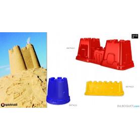 Moule à sable pour construire un château