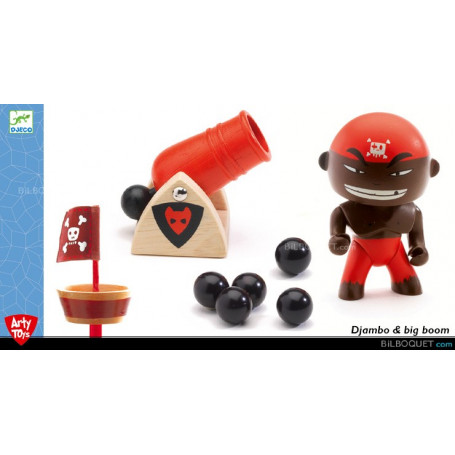 Djambo & big boom - Arty Toys pirates