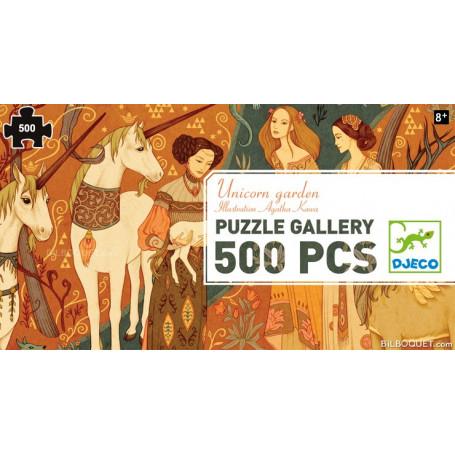 Puzzle Gallery Dames à la licorne (500 pièces)