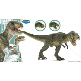 T-Rex courant vert figurine-jouet en plastique