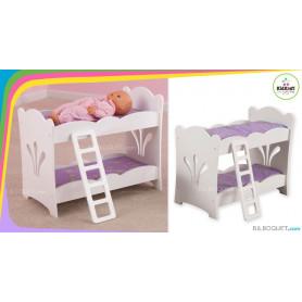 Lits superposés - Mobilier pour poupées