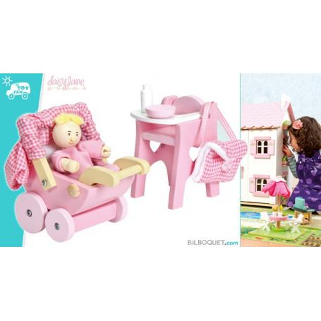 Accessoires nurserie avec bébé