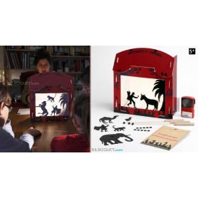 Histoire d'ombres Théâtre d'ombres en carton