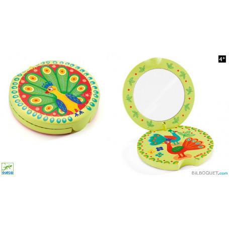 Miroir La roue du paon Accessoire de beauté