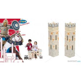 2 petites tours - Extension pour le château du maître des armes