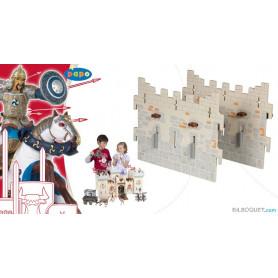 2 grands murs - Extension pour le château du maître des armes