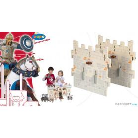 2 murs intermédiaires - Extension pour le château du maître des armes