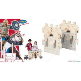 2 petits murs - Extension pour le château du maître des armes