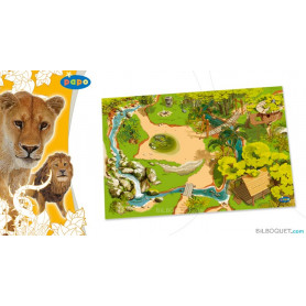 Tapis de jeu Jungle