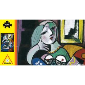 Puzzle Femme avec livre par Pablo Picasso 1000 pièces