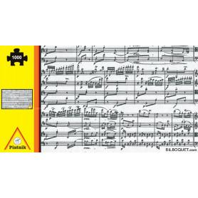 Puzzle Casse-tête Notes de musique 1000 pièces