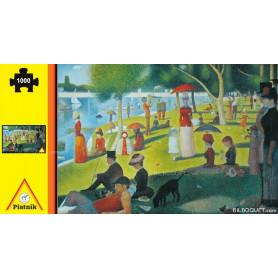 Puzzle Un dimanche d'été à la Grande Jatte par Georges Seurat 1000 pièces