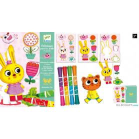 Coloriage pour les petits - 4 saisons Design by Amandine Piu