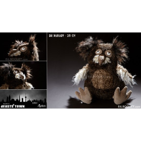 Chouette Dr Nobody Peluche design Beasts