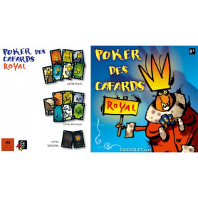 Poker des cafards ROYAL Jeu de bluff et mensonge