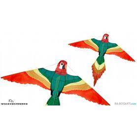 Perroquet cerf-volant monofil pour les enfants