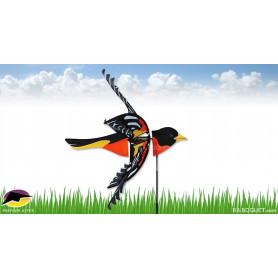 Eolienne de jardin Oiseau Oriole du Nord