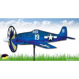Eolienne décorative Avion Hellcat
