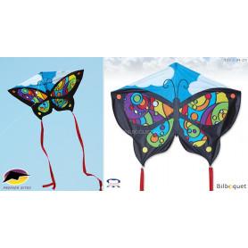 Papillon Rainbow Orbit Cerf-volant monofil enfants (132x94cm)