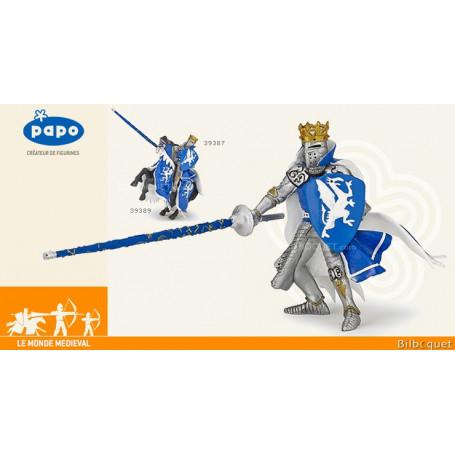 Roi au dragon bleu