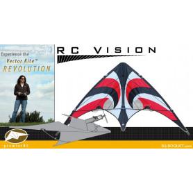 Vision Vector Kite 840 Series - Rouge Vortex