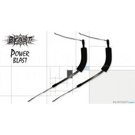 Paire de poignées graphite pour Revolution Blast et Power Blast