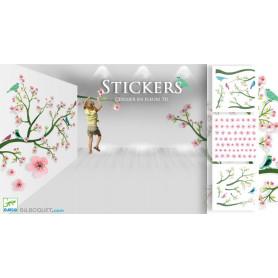 Stickers en volume Cerisier en fleur