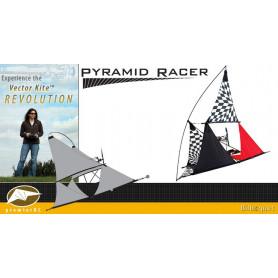 Pyramid Racer Tecmo Vector Kite Gen I Series avec moteur