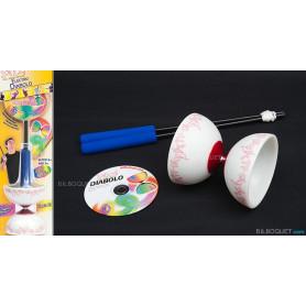 Diabolo à LEDs avec DVD