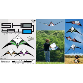 SHOOTER Ultra Line - cerf-volant de freestyle