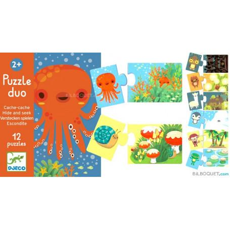 Puzzle duo Cache-cache