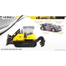Bulldozer NEW HOLLAND D 180 - Norev Construction