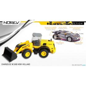 Chargeuse NEW HOLLAND W 190B - Norev Construction